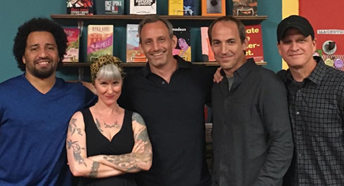 Crime Quiz Live W Danny Gardner, Christa Faust, Eric Beetner, And S.W. Lauden