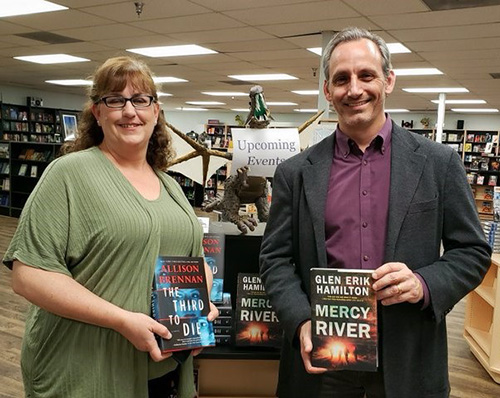 With Allison Brennan At Mysterious Galaxy