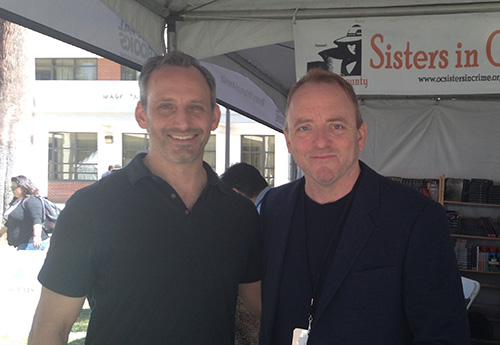 With Dennis Lehane At LA Times Festival Of Books